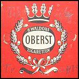 Oberst Zigaretten