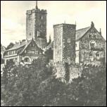 Fotoglanzkarte: EISENACH                                           - Wartburg von SW 1955 - 2,00                                           EUR