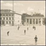 Fotokarte, MÜNCHEN 1938 Königlicher Platz, Leute - 7,00 EUR