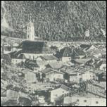 MITTENWALD Panorama, 1935 gel.                                   WINTEROLYMPIA 36 - 5,00 EUR