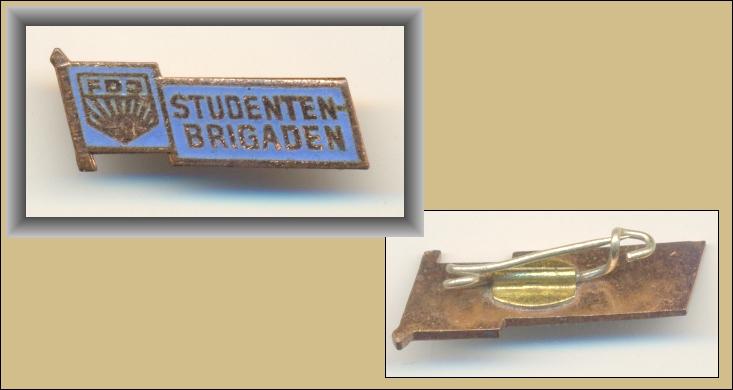 DDR-Abzeichen: Miniatur: FDJ STUDENTENBRIGADEN - 30,00 Eur