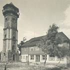 Fotokarte: BERGGASTHAUS                                   SCHEIBENBERG, 1952 - 7,00 EUR