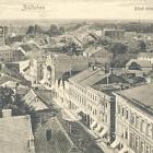 ZÜLLICHAU (Posen):                                             FELDPOST 1918: Blick vom                                             Rathausturm; BAHNPOST Zug                                             304 - 23,00 EUR