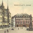 LITHO: Landkarte, Markt; 1898                                   gelaufen - 20,00 EUR