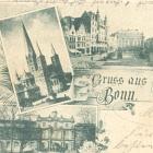 BONN: 5 Ansichten; 1897 gelaufen                                   - 16,00 EUR