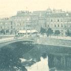 HEILBRONN:                                                 Postgebäude mit Brücke;                                                 1898 gelaufen - 12,00                                                 EUR