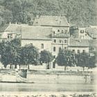 HEIDELBERG                                                       von der                                                       Hirschgasse                                                       gesehen; 1898                                                       gelaufen - 15,00                                                       EUR