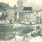 KÖLN: Marktplatz; 1898                                       gelaufen - 10,00 EUR