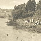 NEUDORF,                                                   Badeteich; 1928                                                   gelaufen - 4,00 EUR