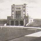 Fotokarte: KARL-MARX-STADT - Ernst-Thälmann-Stadion; 1954 gelaufen - 6,00 EUR