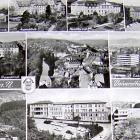 TÜBINGEN: Fotoglanzkarte:                                         Uni-Kliniken; 10 Ansichten, 1981                                         gelaufen - 3,00 EUR