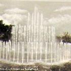 Fotokarte: CHEMNITZ - Leuchtspringbrunnen am Schlossteich; 1952 - 3,00 EUR