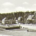 Fotokarte: FRIEDRICHSBRUNN Ostharz HÄUSER; 1953 gelaufen - 3,00 EUR