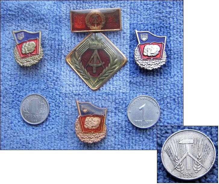 GDR MEMORIES - 6-teilige DDR-Erinnerung - 10,00 EUR