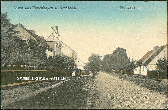 FREIENHAGEN (Brandenburg) Dorfansicht von 1915 -  14,00 EUR