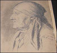 Originale BEGAS-Kohlezeichnung von 1887